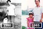mesma foto mesmo lugar - Mesma foto, mesmo lugar há 40 anos!