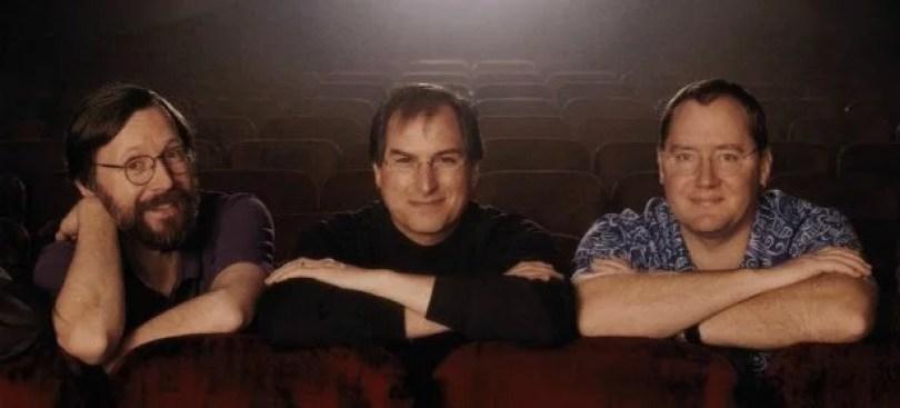 Ed Catmull Steve Jobs e John Lasseter donos da pixar - Os impecáveis detalhes da Pixar: Todos os ''easter eggs'' de Rattatouille