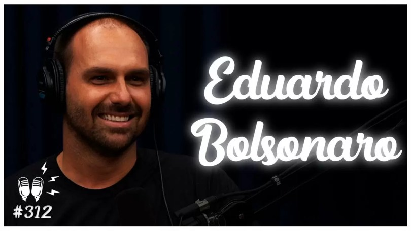 flow podcast eduardo bolsonaro - Flow Podcast entrevista o deputado Eduardo Bolsonaro