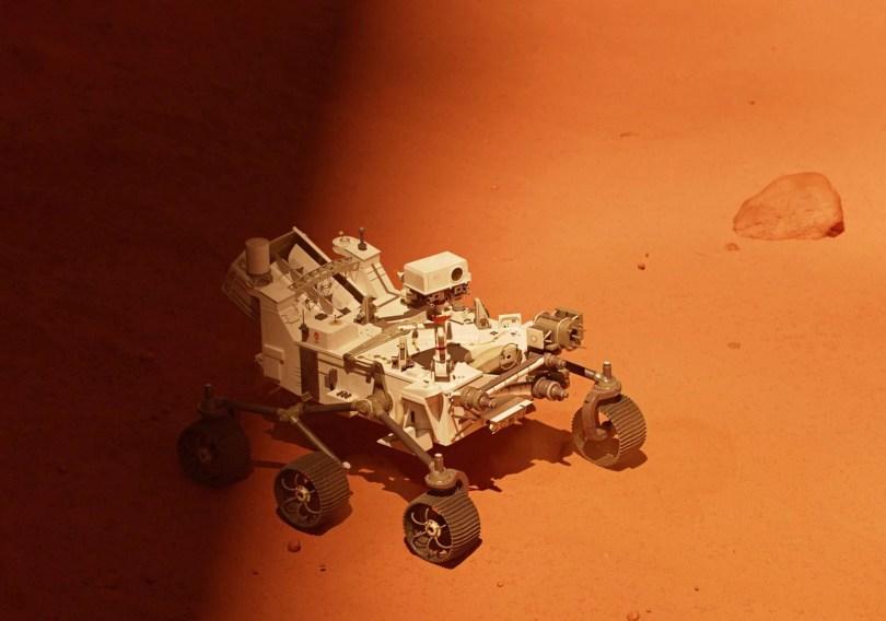 rover full scaled - NASA extrai oxigênio do planeta vermelho!