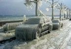 Frio Carro Congelado capa snow