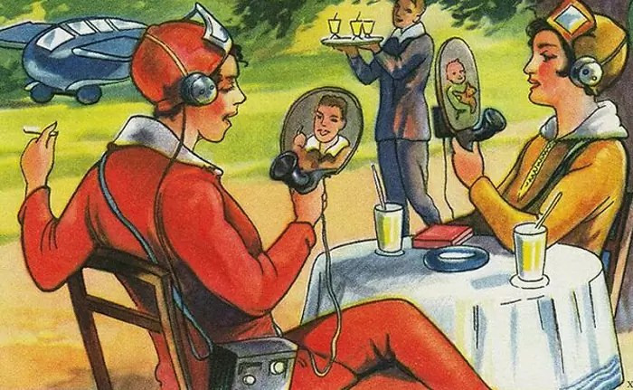 como as pessoas de antigamente imaginavam o futuro tecnologias 1
