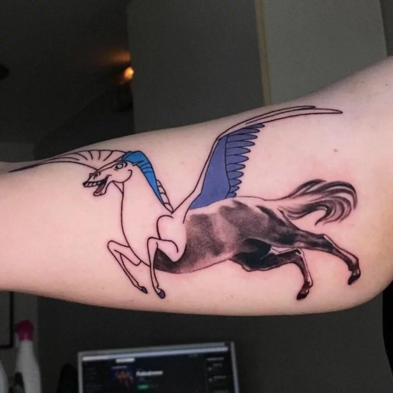 tatuagens criadas a partir de dois estilos diferentes por regra de tapete 36 - 45 tatuagens criadas a partir de dois estilos diferentes