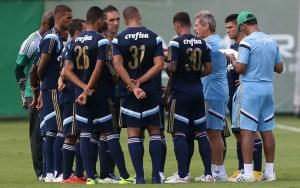 Oswaldo de Oliveira tem muitas opções para montar a equipe (Foto: Cesar Greco/Ag Palmeiras/Divulgação)
