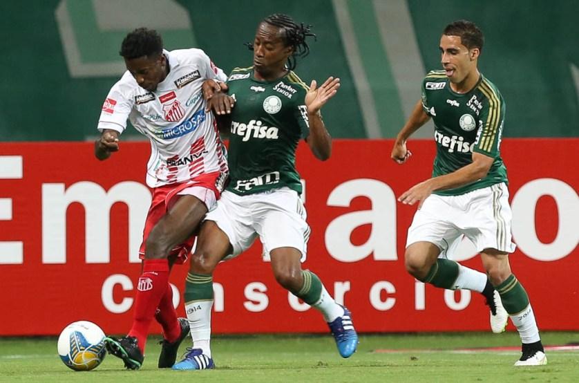 Arouca supera ansiedade de estreia e prevê parceria vitoriosa com Oswaldo. Créditos: Cesar Greco/Ag Palmeiras/Divulgação