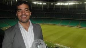 João Paulo Sampaio, ex-Vitória, deve substituir Erasmo Damiani, que está de saída do clube para a CBF. Foto: Reprodução