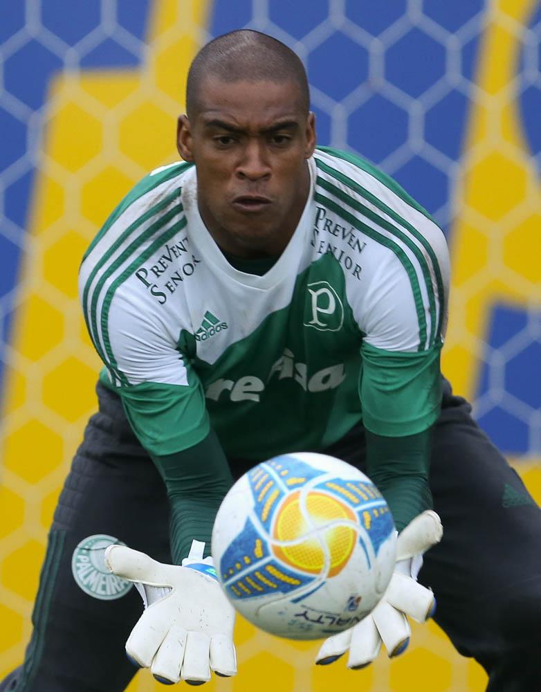 O goleiro Jailson renovou seu vínculo com o Palmeiras até 31 de dezembro de 2016. (Cesar Greco/Ag. Palmeiras/Divulgação)