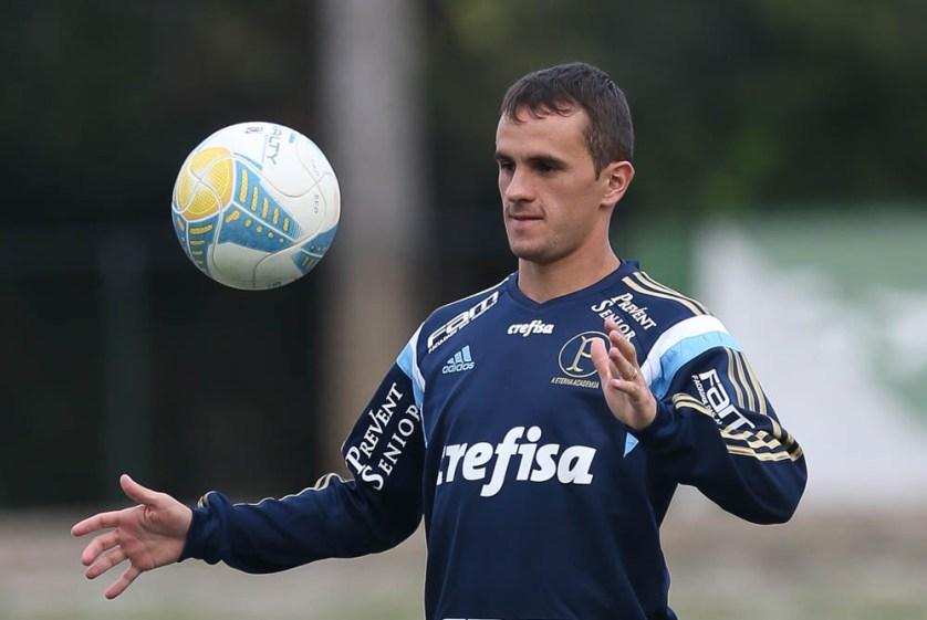 """Lucas acredita que o time já tenha """"cara de campeão"""". (Cesar Greco/Ag. Palmeiras/Divulgação)"""
