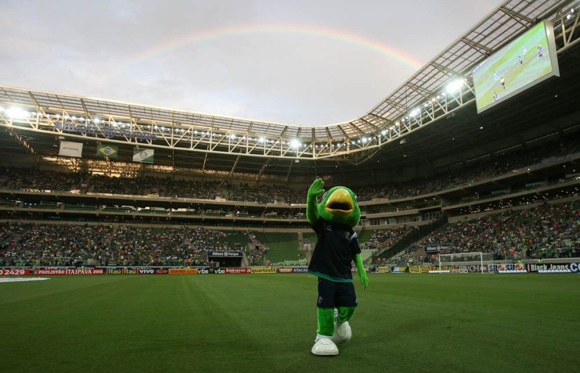 Allianz Parque estará lotado neste domingo (Cesar Greco/Ag. Palmeiras/Divulgação)