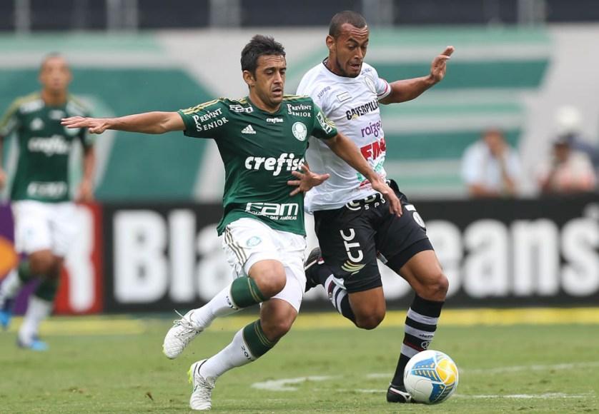Para Robinho, críticas da torcida não o incomodam ( Cesar Greco/Ag Palmeiras/Divulgação)