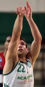 Maxi Stanic foi destaque no jogo e é um dos melhores jogadores do Palmeiras no NBB7 (Fabio Menotti/Ag. Palmeiras/Divulgação)