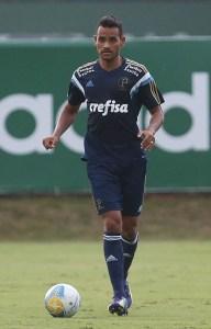 Jackson será titular do Palmeiras na estréia da Copa do Brasil (Foto: Cesar Greco/Ag. Palmeiras/Divulgação)