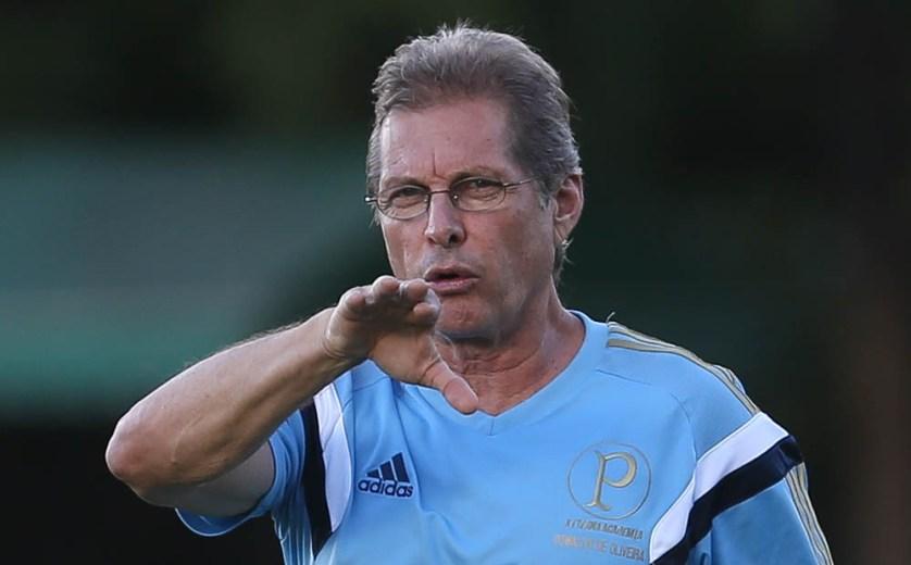 Oswaldo tem o melhor início de um técnico no clube desde 1990. (Cesar Greco/Ag. Palmeiras/Divulgação)