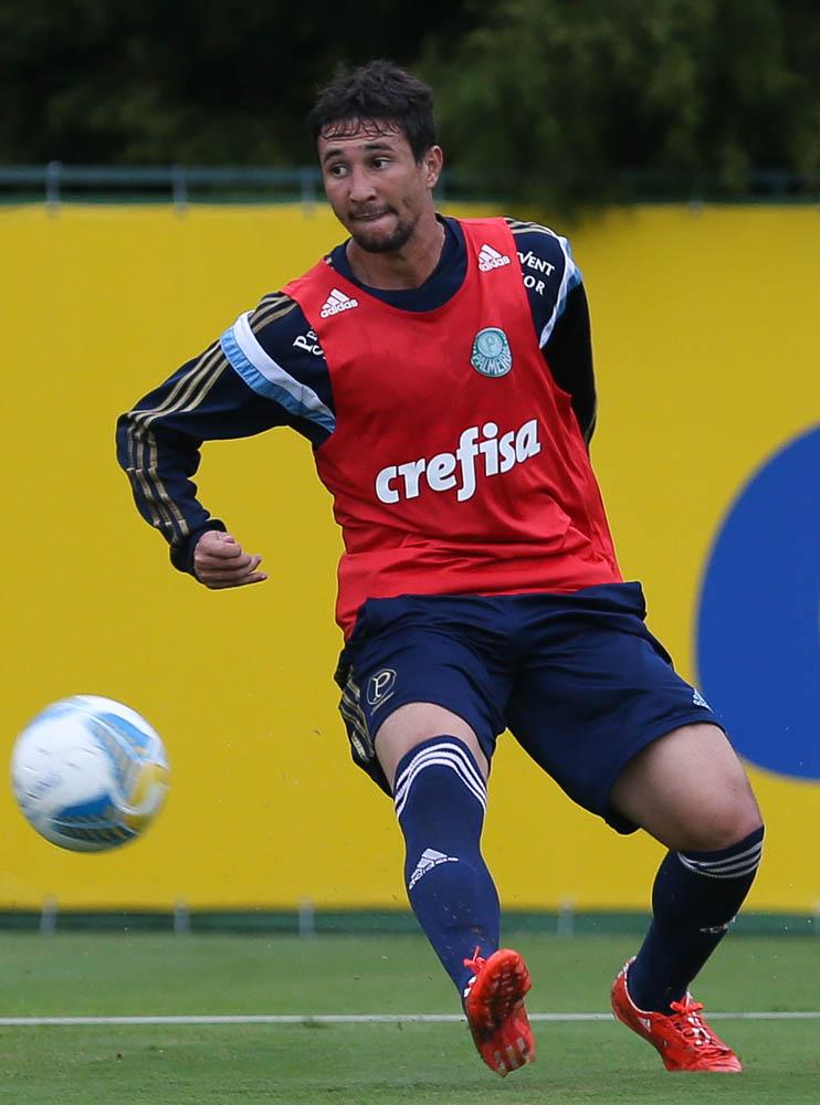 Ryder foi liberado para acompanhar o nascimento do filho, na Itália. (Cesar Greco/Ag. Palmeiras/Divulgação)
