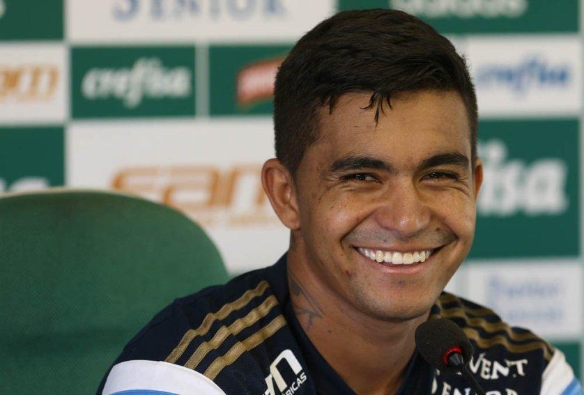 Para o atacante Dudu, todo jogador entra motivado a fazer um grande jogo em clássicos. (Cesar Greco/Ag. Palmeiras/Divulgação)