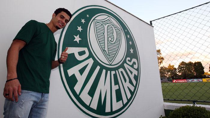 Bi-campeão brasileiro em 2013/2014, Egídio chega ao Palmeiras (Fabio Menotti/Ag. Palmeiras/Divulgação)
