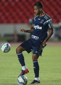 Jackson agradeceu o carinho da torcida que recebeu o time em São Luís. (Cesar Greco/Ag Palmeiras/Divulgação)