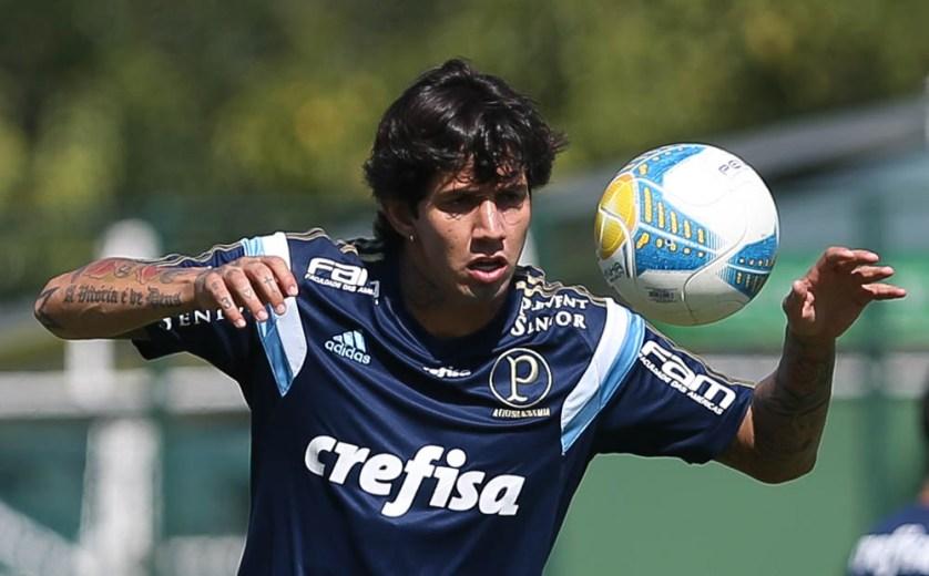 Não tem equipe titular ou reserva. Eu trabalho pesado no dia a dia, com determinação. (Cesar Greco/Ag. Palmeiras/Divulgação)