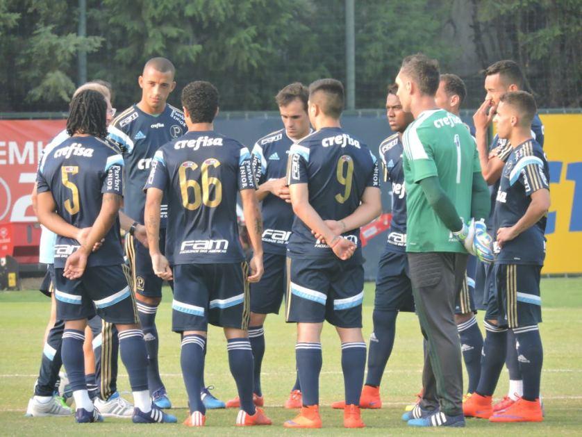 O Palmeiras fará ultimo treino da preparação para o confronto de domingo, na manhã deste sábado, às 9h, em movimentação fechada para a imprensa. (Mídia Palmeirense)