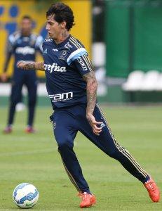 Victor Ramos começou o ano na reserva, mas conquistou a posição de titular durante o Campeonato Paulista. (Cesar Greco/Ag. Palmeiras/Divulgação)
