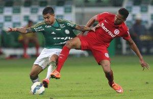 Dudu retornou ao time após efeito suspensivo. (Cesar Greco/Ag. Palmeiras/Divulgação)