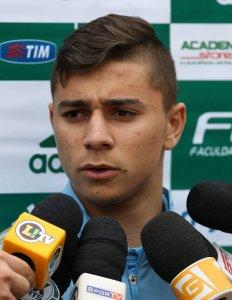 João Pedro foi titular na Seleção Brasileira Sub-20 durante o Mundial. (Cesar Greco/Ag. Palmeiras/Divulgação)