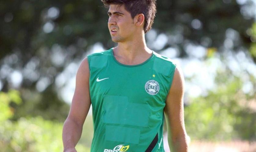 Leandro Almeida deixa o Coritiba para acertar com o Palmeiras (Divulgação/Coritiba)