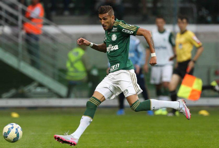 Rafael Marques marcou seu quinto gol em clássicos na temporada. (Cesar Greco/Ag. Palmeiras/Divulgação)