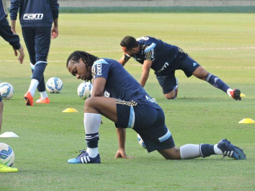 Verdão realizou último treinamento antes de partir para 'retiro' em Atibaia-SP. (Mídia Palmeirense)