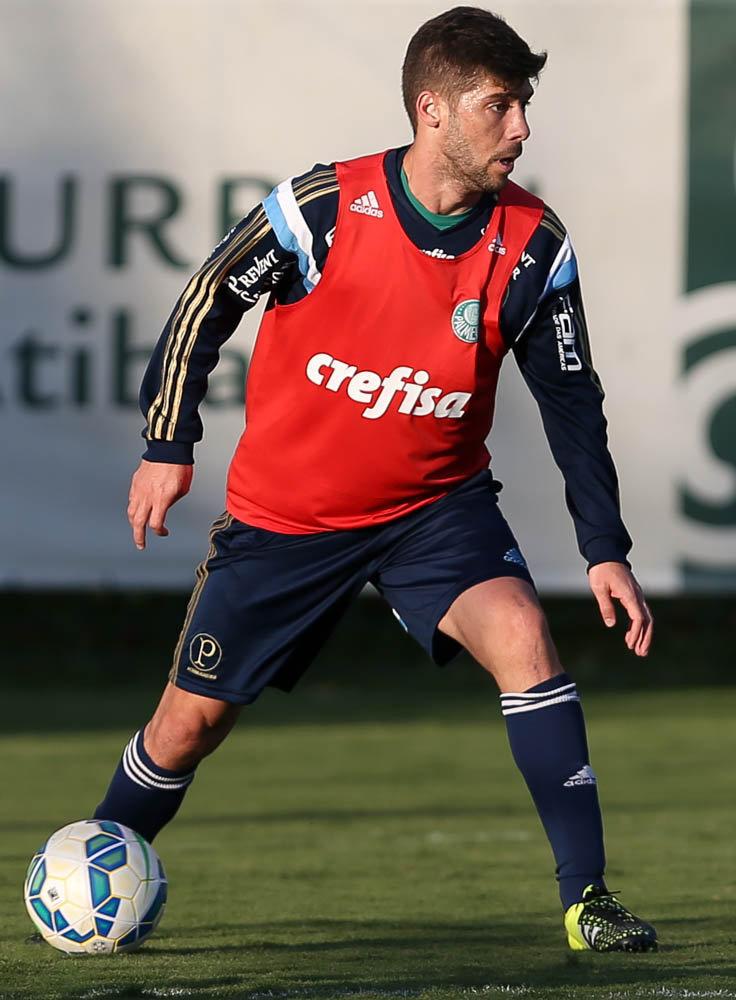 Fellype Gabriel tem treinado na Academia de Futebol (Cesar Greco/Ag Palmeiras/Divulgação)