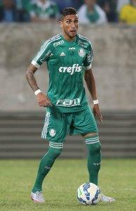 Rafael Marques deu os passes para os dois gols de Dudu. (Cesar Greco/Ag. Palmeiras/Divulgação)