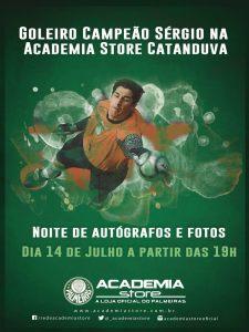 Ex-goleiro,Sérgio receberá os torcedores de Catanduva e Região para uma noite de autógrafos no dia 14 de julho. (Divulgação)