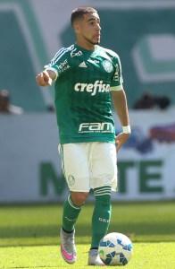 Gabriel se machucou e foi substituído ainda no 1º tempo. (César Greco/Ag.Palmeiras)
