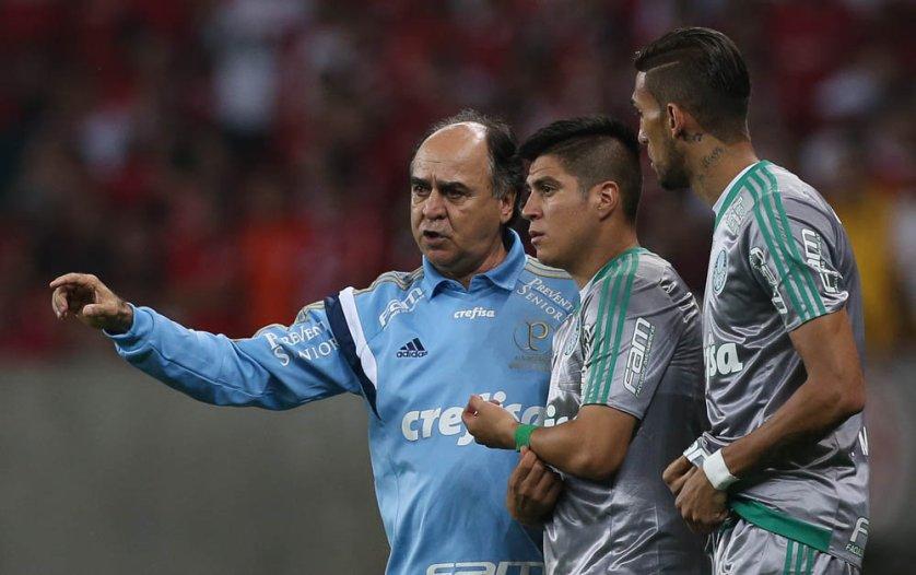 Marcelo Oliveira alertou equipe palestrina para partida de volta. (Cesar Greco/Ag.Palmeiras/Divulgação)