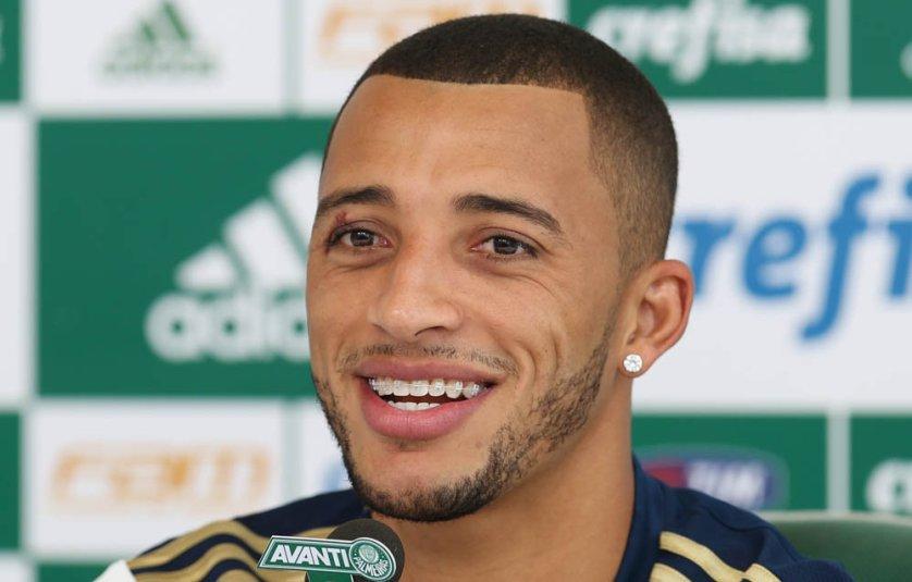 Vitor Hugo já marcou seis gols nesta temporada. (Cesar Greco/Ag. Palmeiras/Divulgação)