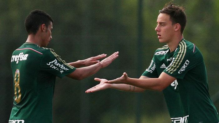 Palmeiras derrotou o Santos por 1 a 0 pela partida de ida das quartas de final do Campeonato Paulista (Fabio Menotti/Ag. Palmeiras/Divulgação)