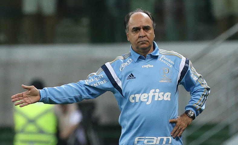 Marcelo Oliveira analisou duelo contra Internacional desta quarta-feira (30). (Cesar Greco/Ag.Palmeiras/Divulgação)
