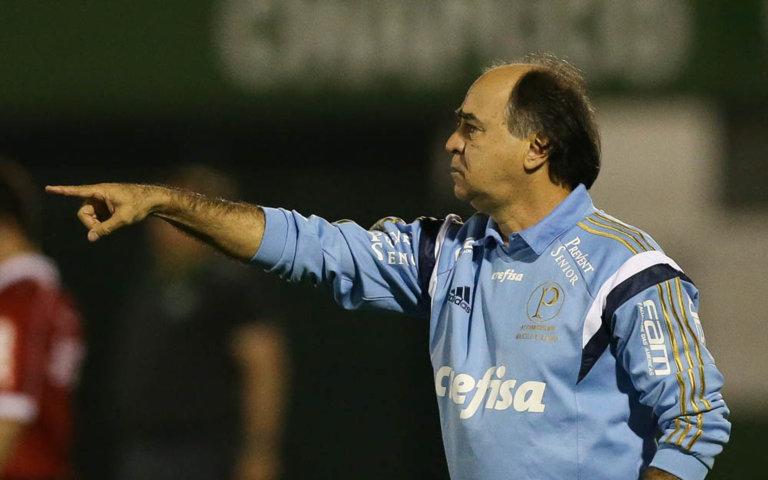 Marcelo Oliveira reconheceu a má atuação da equipe neste domingo (4). (Cesar Greco/Ag.Palmeiras/Divulgação)