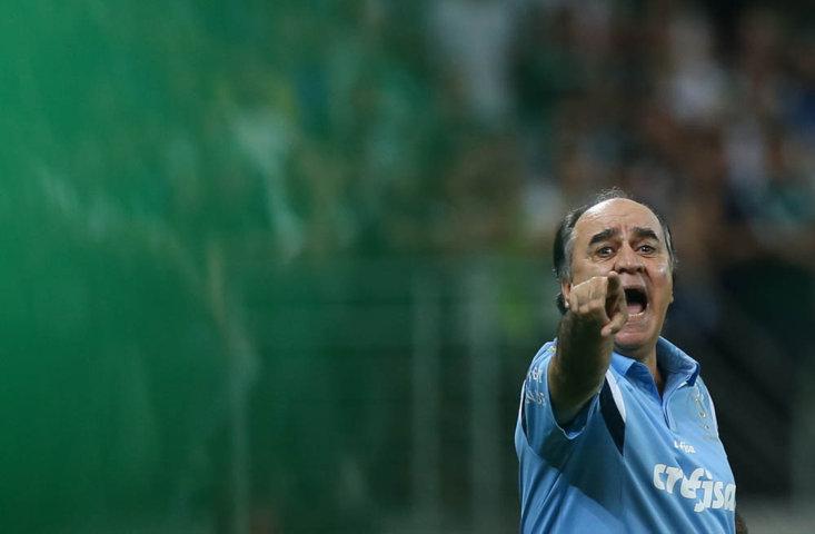 'Não foi como queríamos', disse o técnico Marcelo Oliveira. (Cesar Greco/Ag. Palmeiras/Divulgação)