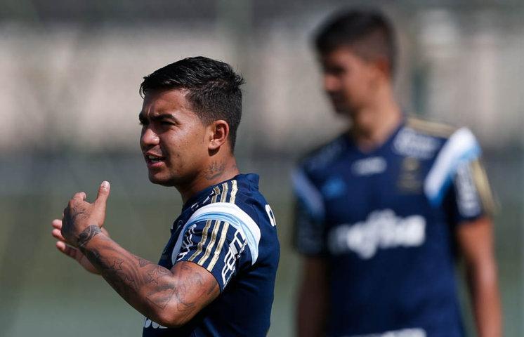 Dudu acredita que concentração em Atibaia teve efeito positivo no elenco. (Cesar Greco/Ag. Palmeiras/Divulgação)