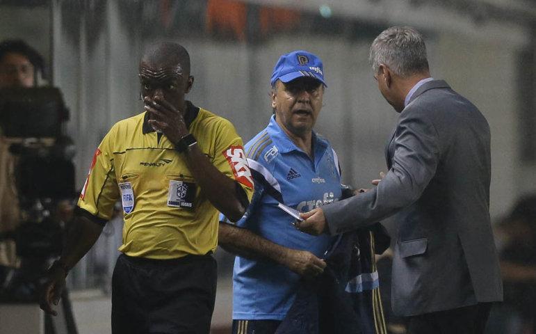 Apesar de polêmica, Marcelo se mostrou otimista com a partida de volta, no Allianz Parque. (Cesar Greco/Ag. Palmeiras/Divulgação)