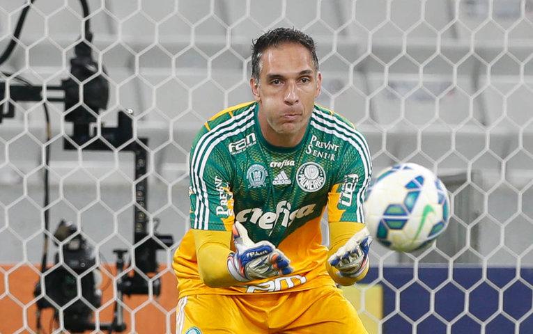 Fernando Prass falou sobre o fim de jogo alucinante na Arena da Baixada. (Cesar Greco/Ag.Palmeiras/Divulgação)