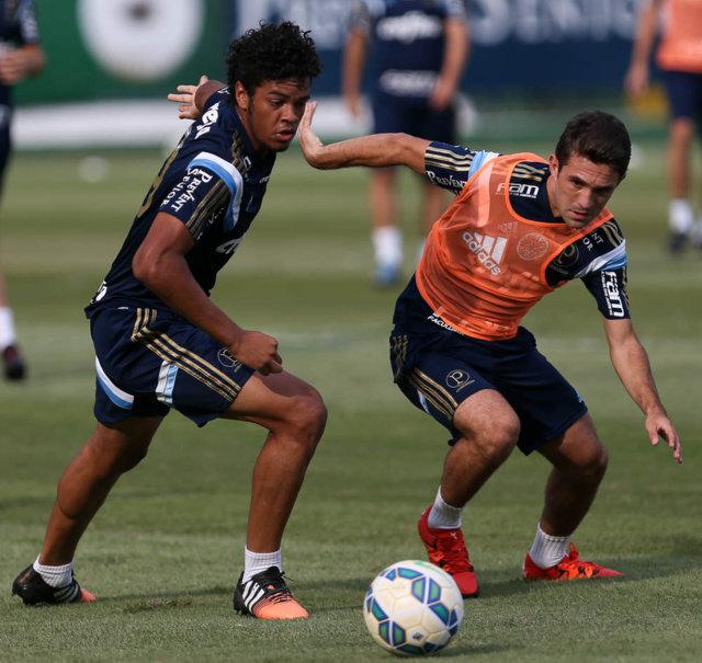 Marcelo Oliveira começou a preparar equipe para jogo contra o Coritiba. (Cesar Greco/Ag.Palmeiras/Divulgação)