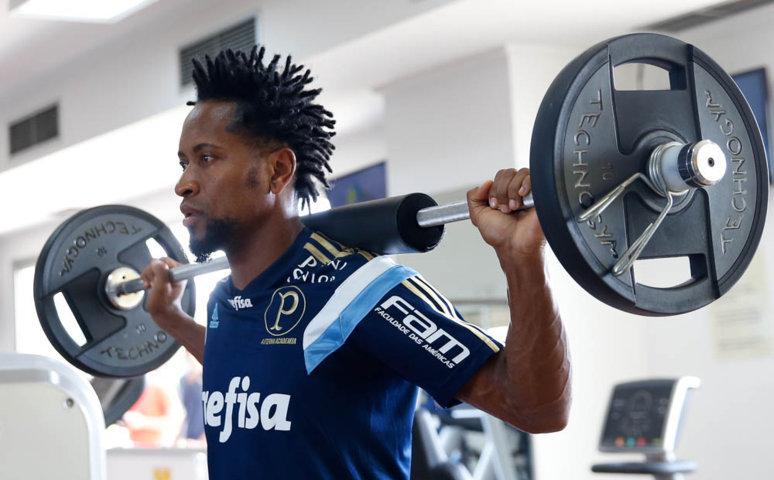 Verdão realizou terceiro dia de treinamentos no interior de São Paulo. (Cesar Greco/Ag.Palmeiras/Divulgação)