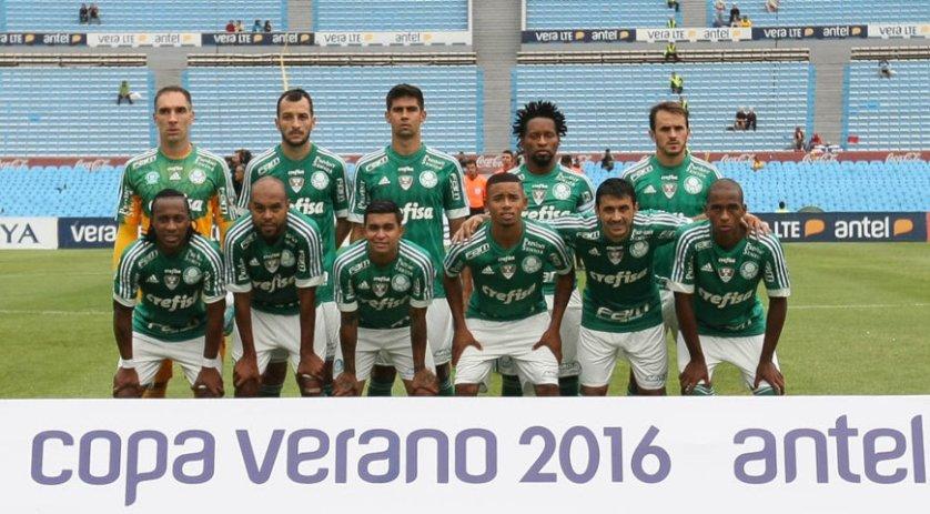 Com vitória e empate (derrota nos pênaltis), Palmeiras termina Copa Antel com 2ª colocação. (Cesar Greco/Ag. Palmeiras/Divulgação)