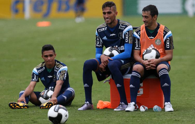 Para disputar a competição internacional, o técnico Marcelo Oliveira relacionou 29 atletas. (Cesar Greco/Ag. Palmeiras/Divulgação)