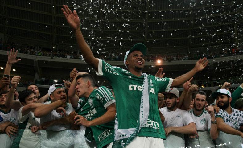 Taylor entrou no segundo tempo da final da Copa do Brasil e não sentiu a pressão. (Cesar Greco/Ag.Palmeiras/Divulgação)