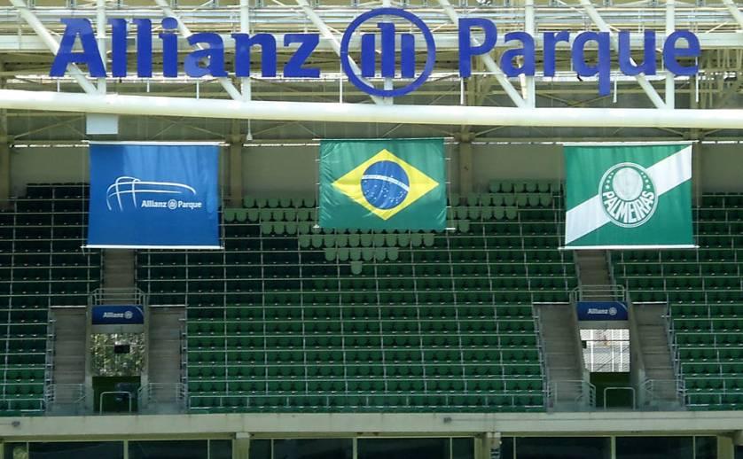 Contra o Santa Cruz, Allianz Parque chega ao seu 50º jogo. (Amon Borges /Folhapress)