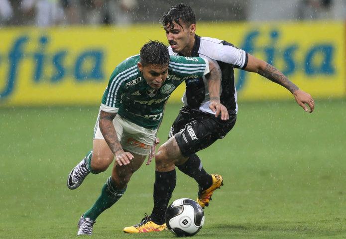 Em partida equilibrada, os dois rivais não conseguiram sair do empate sem gols. (Cesar Greco/Ag. Palmeiras/Divulgação)