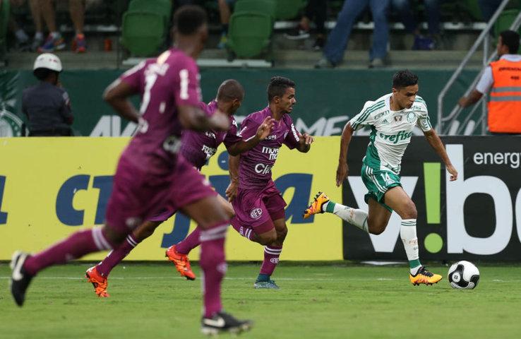 Palmeiras recebeu a Ferroviária e sofreu revés pelo placar de em 2 a 1. (Cesar Greco/Ag. Palmeiras/Divulgação)